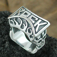 Rock n Roll Silver Jewelry